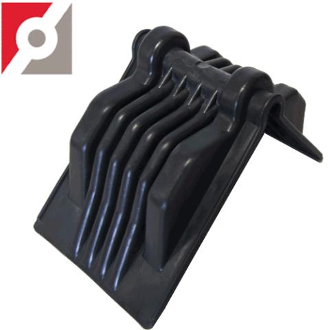 Kantenschoner schwarz 175x136mm Breite150 mm Jumbo