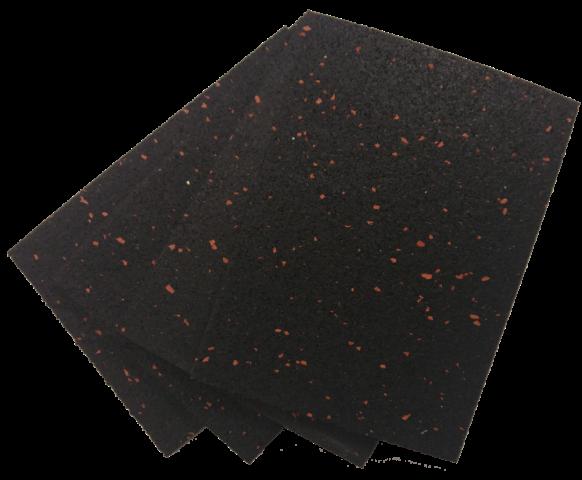 Antirutschmatte schwarz 200 mm x 100 mm x 3 mm