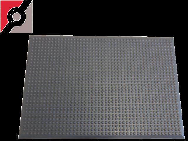 Bodenmatte 900 x 650 x 13mm  Rundnoppe anthrazit