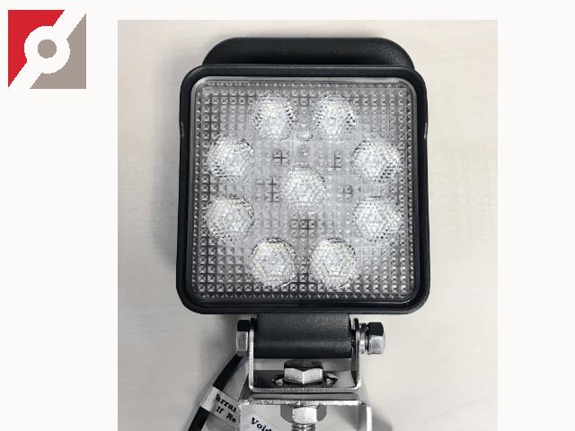LED Arbeitslampe, eckig, 9LEDs, Flood 60°