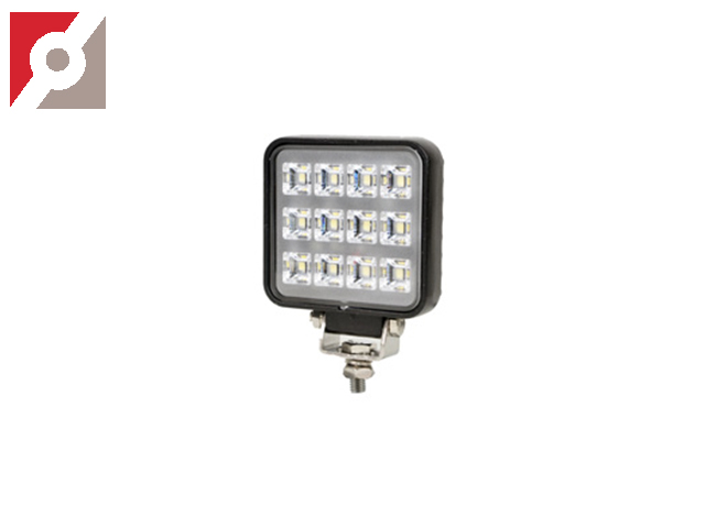 LED-Scheinwerfer ECE R 23 1200 Lumen 76/95/25mm