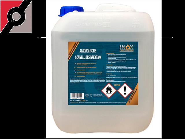 5 Liter Desinfektionsmittel - alkoholisch für Hände und Flächen nach WHO