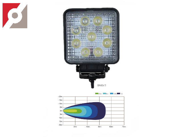 LED-Arbeitsleuchte Aluminium-Druckgussgehäuse