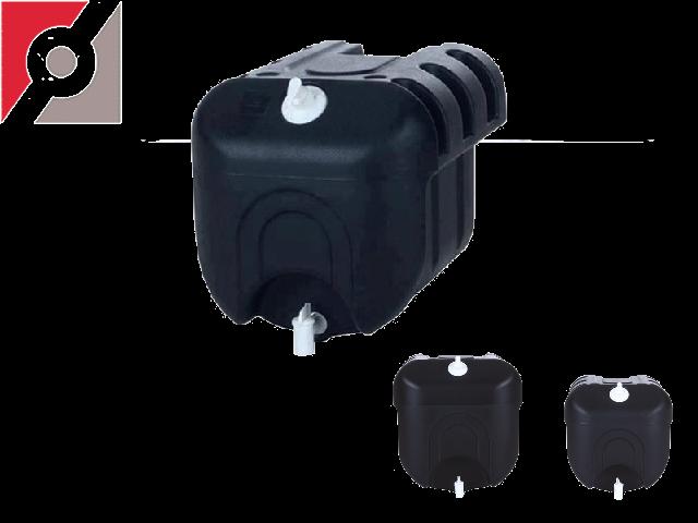 TANKY Handwasch-Wassertank 28 Liter schwarz, 350x360x430mm