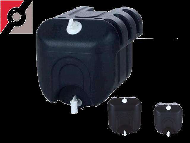TANKY Handwasch-Wassertank 45 Liter schwarz, 420x430x450mm