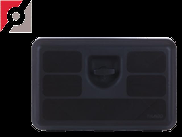 Werkzeugkasten Kunststoff mit  1-Griff-Verrieg.B600xH400xT470