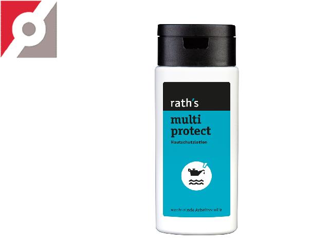 "Hautschutzlotion ""rath's multi protect"" 125 ml Flasche"