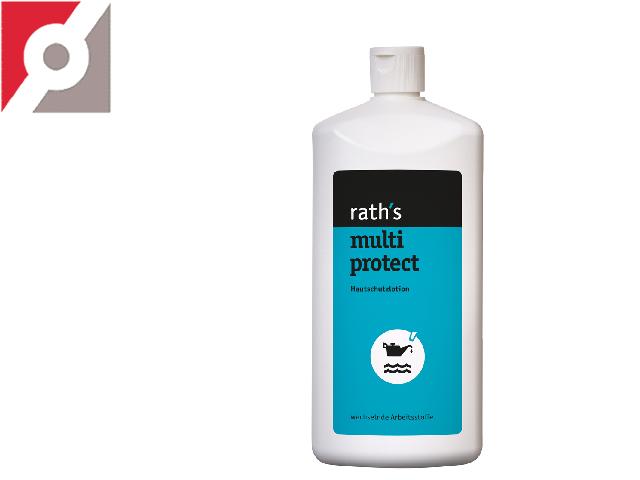"Hautschutzlotion ""rath's multi protect"" 1 L Flasche"