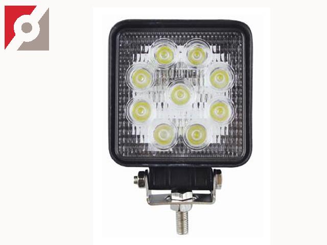 LED-Arbeitslampe, eckig, LED, 27W, EMC, CE
