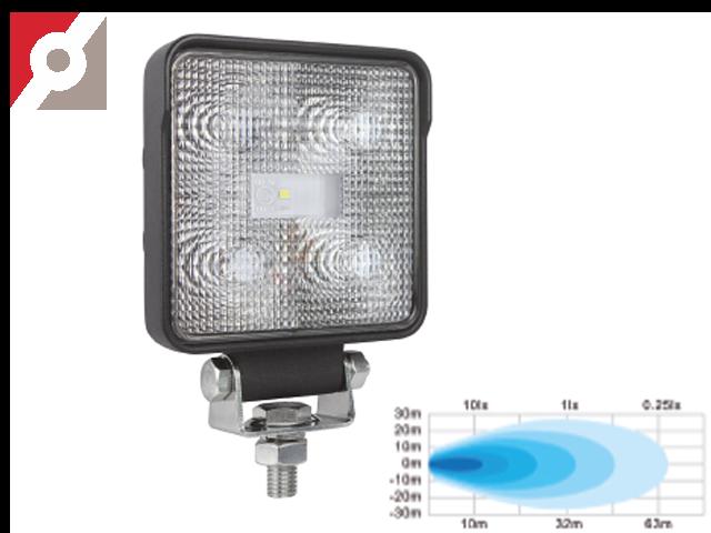 LED Rückfahrscheinwerfer, 5 OSRAM LEDs, Flood 60°