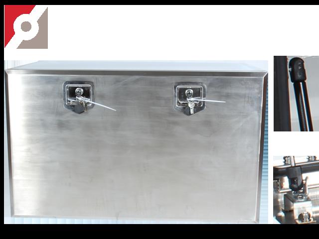 Werkzeugkasten Edelstahl Steel-Fox